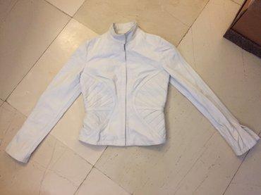 Λαυκό δερμάτινο γυναικείο jacket . Ολοκαίνουργιο , αφόρετο .Νο small σε Rest of Attica