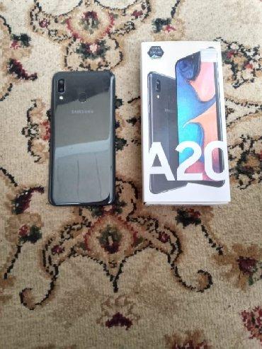 Samsung Lökbatanda: İşlənmiş Samsung A20 32 GB boz