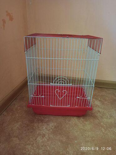 Продаётся клетка для попугаевМаленькая клетка НОВАЯКЛЕТКА С