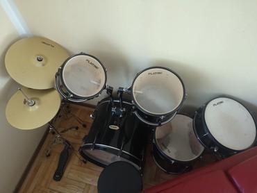 Bubnjevi platini vrlo malo korisceni - Belgrade