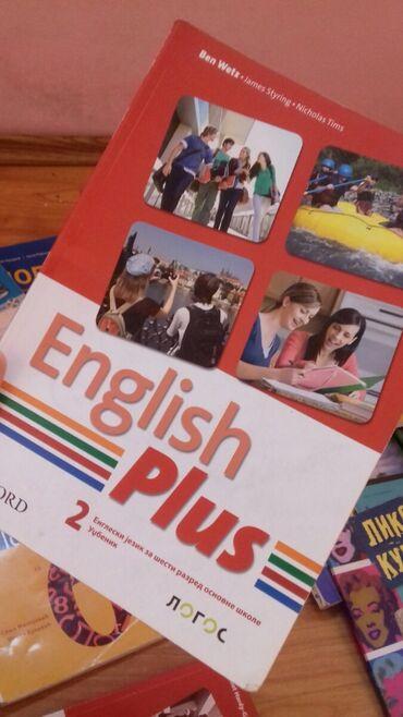 Engleski jezik za šesti razred osnovne škole, kao nov, izdavač logos