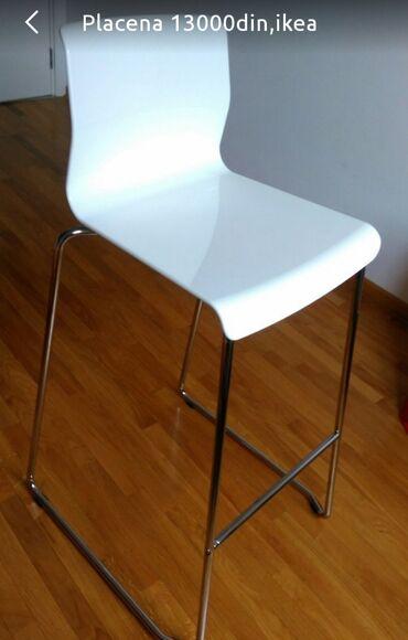 Frizerska stolica - Beograd: Stolica za sank Ikeaplacena 13000din