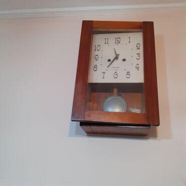 Təcili qədimi antikvar saat satılır. 60 illin saatıdır