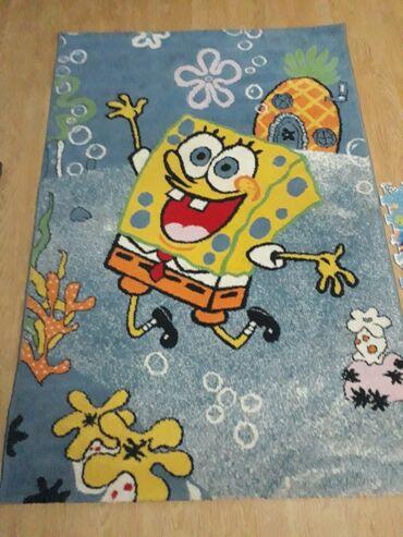 Za decu - Kladovo: Deciji tepih Sundjer BobBez ostecenja,u odlicnom stanjuDimenzije