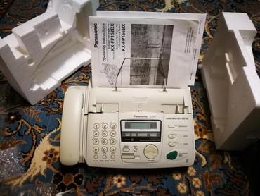 Телефонов факсов - Кыргызстан: Факс Panasonic KX-156. Долго не использовался. Полный комплект