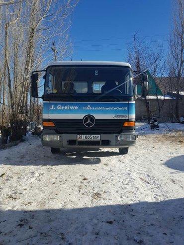 продаю мерседес- атего 818, 2003 г. в. , обьем 4. 3, 3-х местный, меха в Бишкек