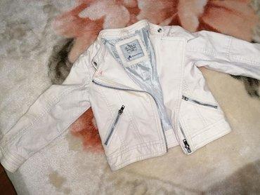 Dečije jakne i kaputi | Leskovac: Kozna jakna bez boje, vel. 116, medjutim vise odgovara za 110. Jedinu