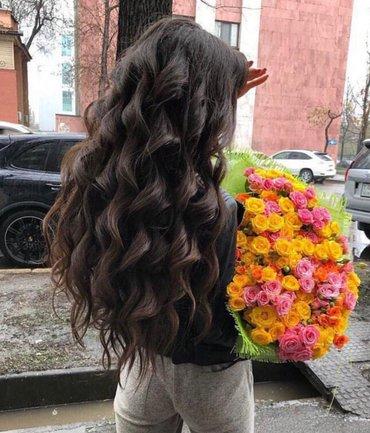 наращивание волос!!! только лучший, качественный волос и 100%гарантия  в Бишкек
