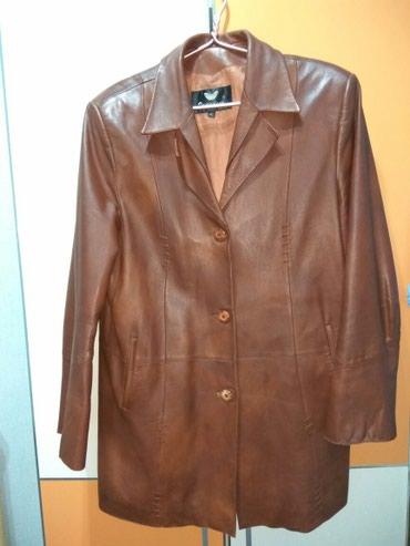 Кожаный пиджак женский в Bakı