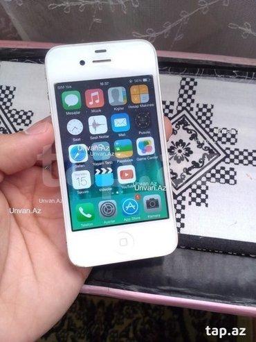 Bakı şəhərində iphone 4--- 8 gb yaddas--- 125 azn