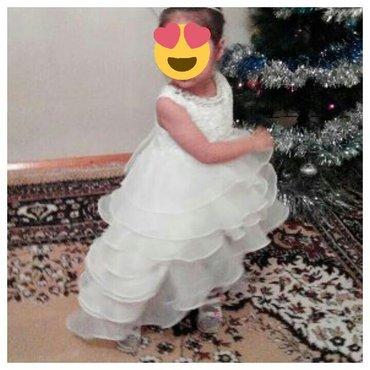 детские платья со шлейфом в Кыргызстан: Шикарное детское платье со шлейфом для вашей принцессы всего за 1000