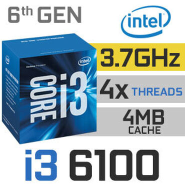 6100 - Azərbaycan: Intel® Core™ i3-6100 Processor3M Cache, 3.70 GHz# of Cores:2# of
