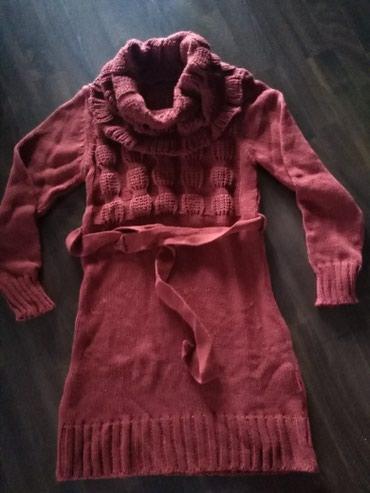 Tunika - haljina od trikotaže - Ruma