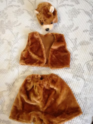 Новый костюм мишки на 4-5 лет!!! в Бишкек