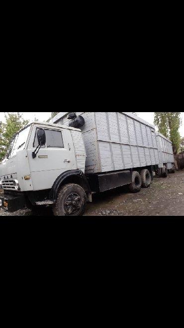 Купить камаз самосвал бу - Кыргызстан: Срочно продаю КАМАЗ с Прицепом! В отличном состоянии готов к рейсу!!