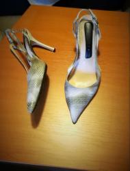 Atraktivne italijanske sandale od zmijske kože broj 38, dobro - Belgrade