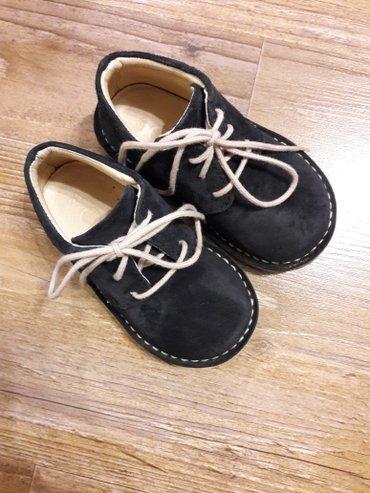 Ботинки, замша, в идеальном состоянии, надели один раз, размер 21 в Бишкек
