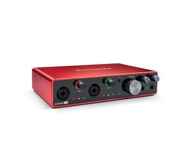 aro 24 2 1 td - Azərbaycan: Focusrite Scarlet 4i4-24 Bits / 192 kHz2 Scarlett mikrafon