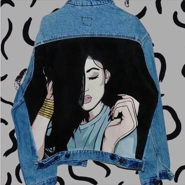 Росписи одежды, рубашки, джинсовки, в Бишкек