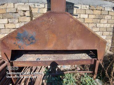 manqal - Azərbaycan: Manqal satilir. Paslanib cox xerci yoxdu. Manqalin agzi 2 metr 30 sm