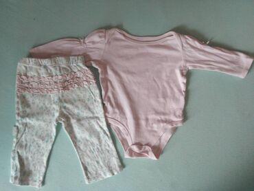 Bodi - Mladenovac: Za uzrast 6 do 9 meseci, pidžamica (bodi i pantalonice). Pogledajte i