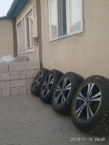 Срочно продаю Литые диски с резиной в Беловодское