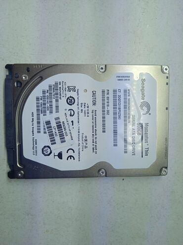 оперативка для ноутбука в Кыргызстан: Жёсткий диск для ноутбука500 Гб Seagate5400 rpmЗдоровье 100%Гарантия 2