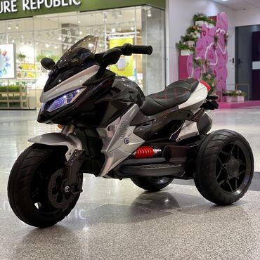 Детский мотоцикл   Ducati bike   Мягкие гелевые колеса   Сиденье натян