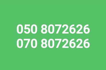 Мобильные телефоны и аксессуары - Азербайджан: Paket 050/070 8061106. Bakcell VIP nomreler satisda