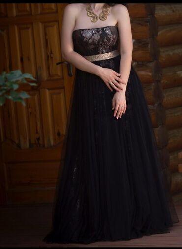 летнее платье трапеция в Кыргызстан: Шикарное платье от Наиля Байкучукова. Размер: 46.#платье