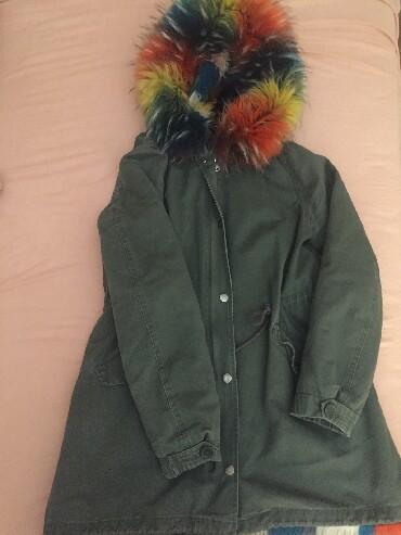 Zimske-jakne - Srbija: Zimska jakna,velicina M,moze se prosiriti i do LVeoma topla i cela je