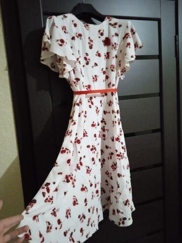 Детский мир - Дачное (ГЭС-5): Новые нежные платья с ремнем и с красивой брошкай.0т 44-52-размера.Ост
