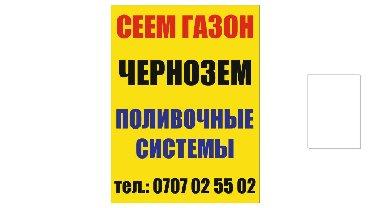 профессиональная стрижка газонов в Кыргызстан: Сеем газон. полив система . авто полив