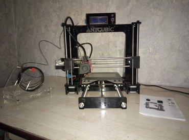 3d принтер prusa i3 + 1кг материал pla собран готов к работе ! в Бишкек