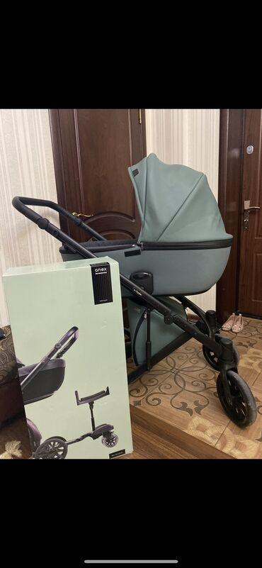 велосипеды для малышей в Кыргызстан: Продаю коляску ANEX 3 в 1. Состояние как у нового. Пользовались буквал