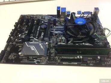 Ana platalar - Azərbaycan: Asus Z270 DDR4 - 4gb (2400) Intel G4400