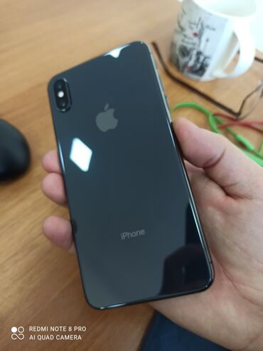 Жаңы iPhone Xs Max 256 GB Кара