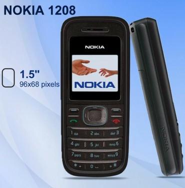 """samsung rv 515 в Кыргызстан: Nokia 1208 """"НОВЫЙ """" цветной экран !Нокиа оригиналНокиа для серьезных"""