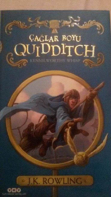 masa kitabı - Azərbaycan: Çağlar Boyu Quiditch(HP-Quidditch tarihini anlatan kitap, türkçe)
