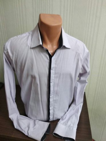 Мужская рубашка! Размер 48-50 Состояние новое! отдам за 250 сом! в Бишкек