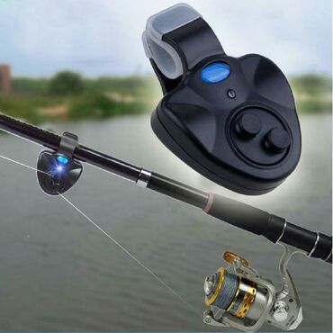 Сигнализация укуса рыбалки со звуком и светом+бесплатная доставка по К