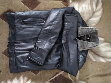 ОтдамКожаная куртка на мальчикаОчеень теплаяСостояние отличноеторг