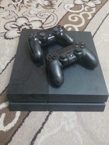 Sony Playstation 4 500gb + 2 Джойстика, 7 игр и в Бишкек