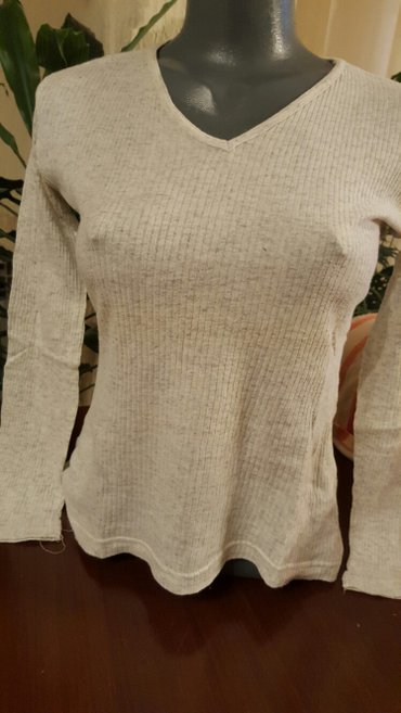 Siva bluza 100%pamuk mekana jako prijatan materijal - Pozarevac