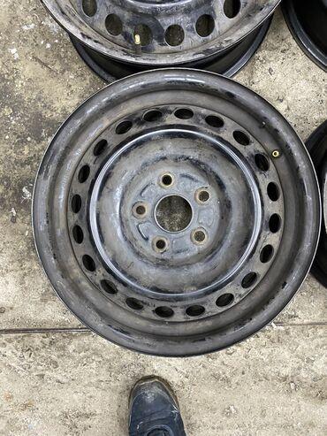 Срочно железные диски Тойота r16/6,5j разболтовка 5х114,3 цо60.1