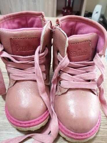 Decije zenske dublje cipele, malo nosene u ekstra stanju, lepog - Belgrade