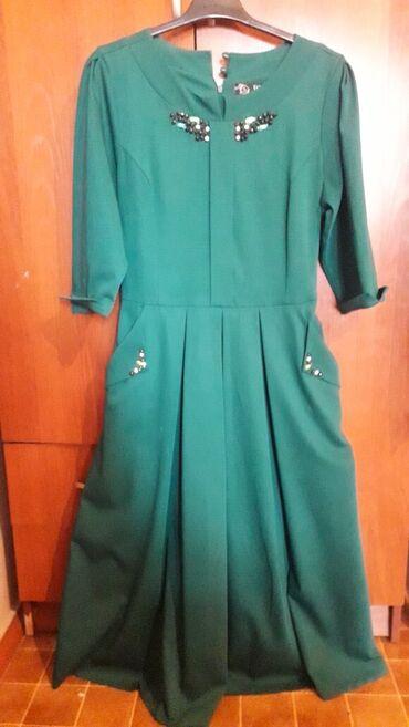Турецкое платье,французской длины.Рукава 3/4.Размер 42,подойдет на