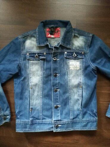 Dečije jakne i kaputi | Ruma: Teksas jakna za dečaka. Veličina 10. Jakna je odlično očuvana i bez