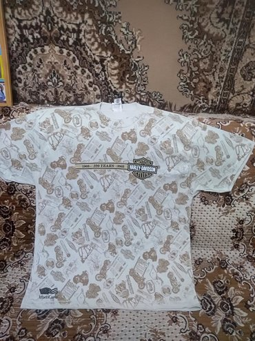 harley davidson sportster в Кыргызстан: Продаю мужскую футболку. Чисто х/б. Новая. РазмерXL, Производство USA