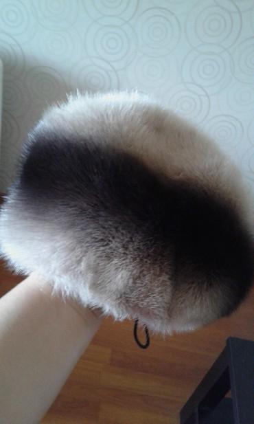 Головной-убор-норковые - Кыргызстан: Женская норковая шапка в очень хорошем состоянии. Выгодная цена с